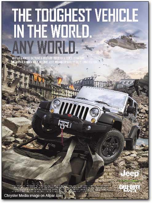 Wrangler: Call of Duty, Modern Warfare 3 Edition