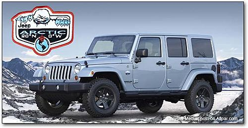 Jeep Arctic Yeti Dig Sweepstakes