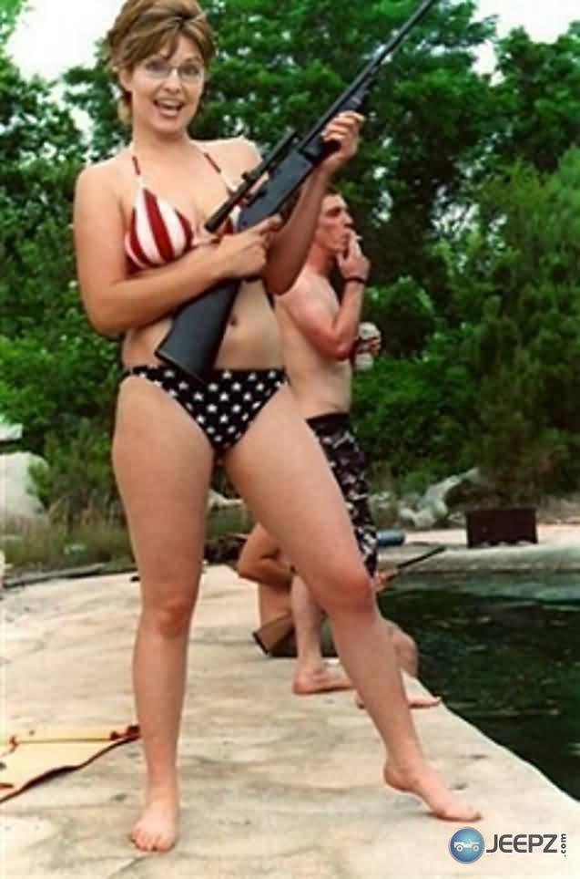 Sara palin bikini resort photos