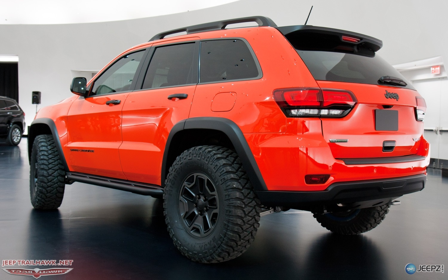 D Moab Concepts Revealed Jeep Grand Cherokee Trailhawk Ii Concept Rear Three Quarters View