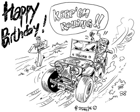happy birthday jeep Happy Birthday Jeep! happy birthday jeep