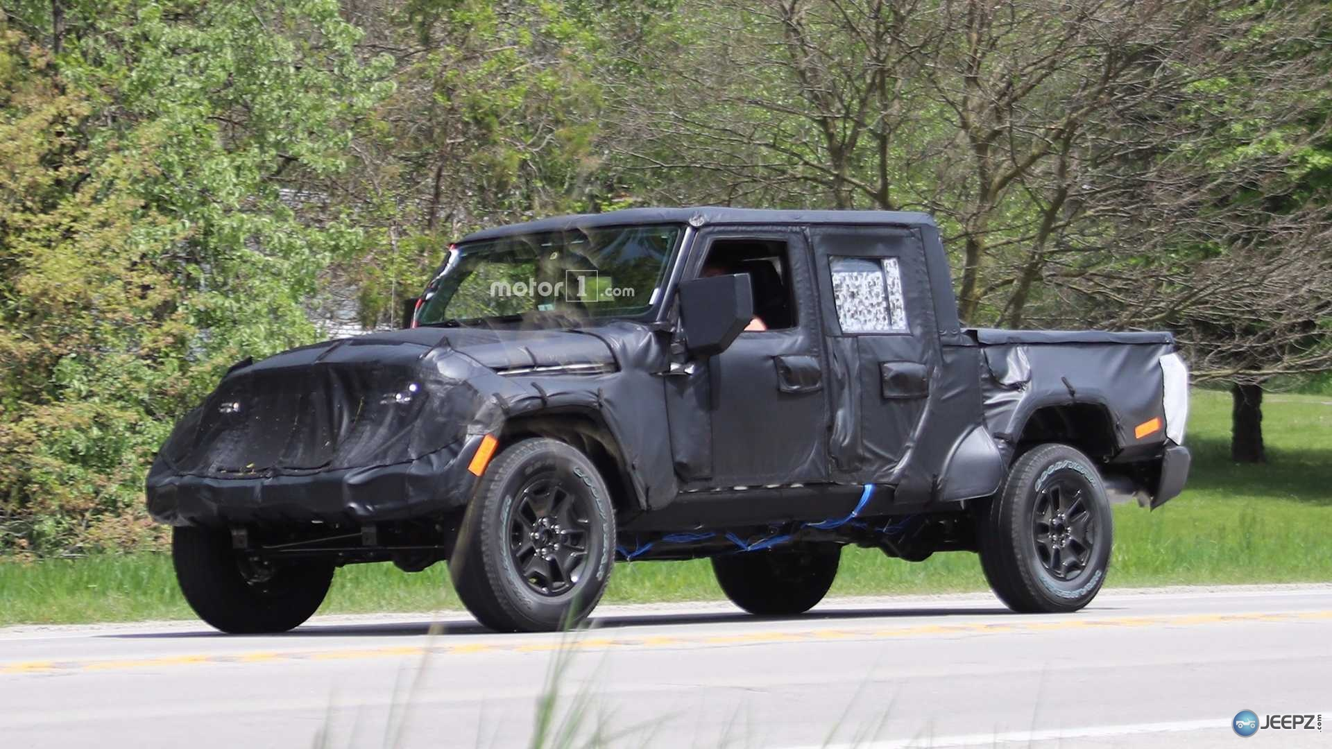 2017 Jeep Wrangler Pickup Price >> More photos of the upcoming 2019 Jeep Wrangler Pickup