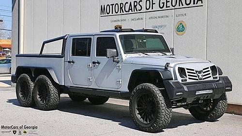 If you've got an extra 270K then you can buy this 6x6 Hemi Jeep Wrangler-jeep-wrangler-6x6-custom.jpg