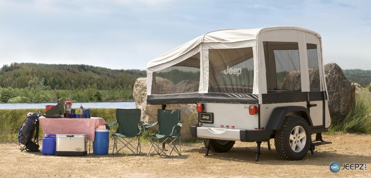 Jeep Offers Popup Campers