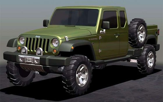 jeep pickup truck coming for 2012. Black Bedroom Furniture Sets. Home Design Ideas