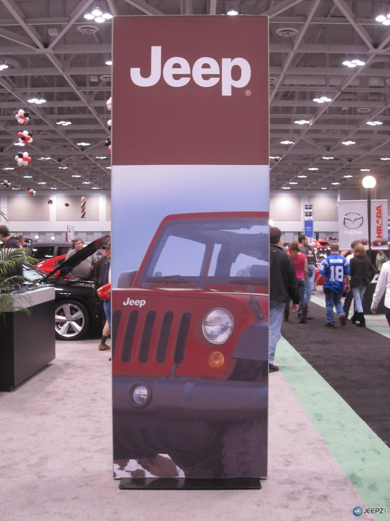 2011 Jeeps at the Virginia Beach Auto Show