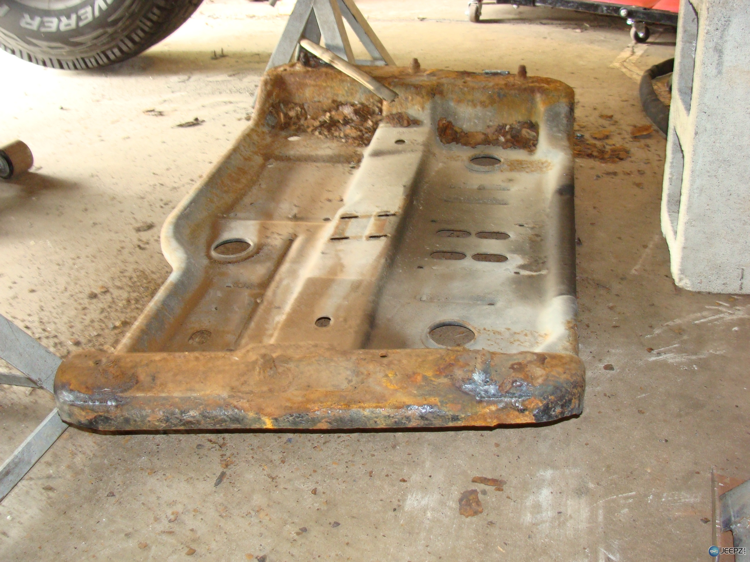 Company That Rebuilds Quot Rusted Quot Jeep Tj Frame Rails Etc