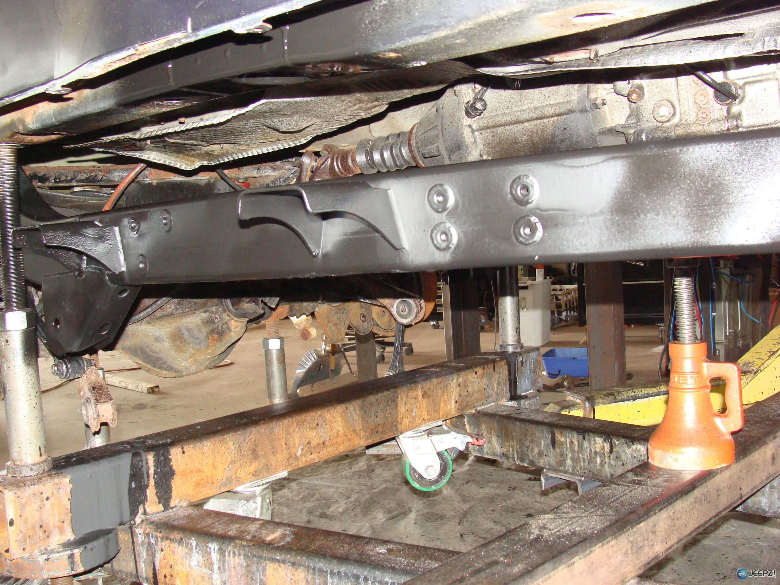 Company That Rebuilds Quot Rusted Quot Jeep Tj Frame Rails Etc