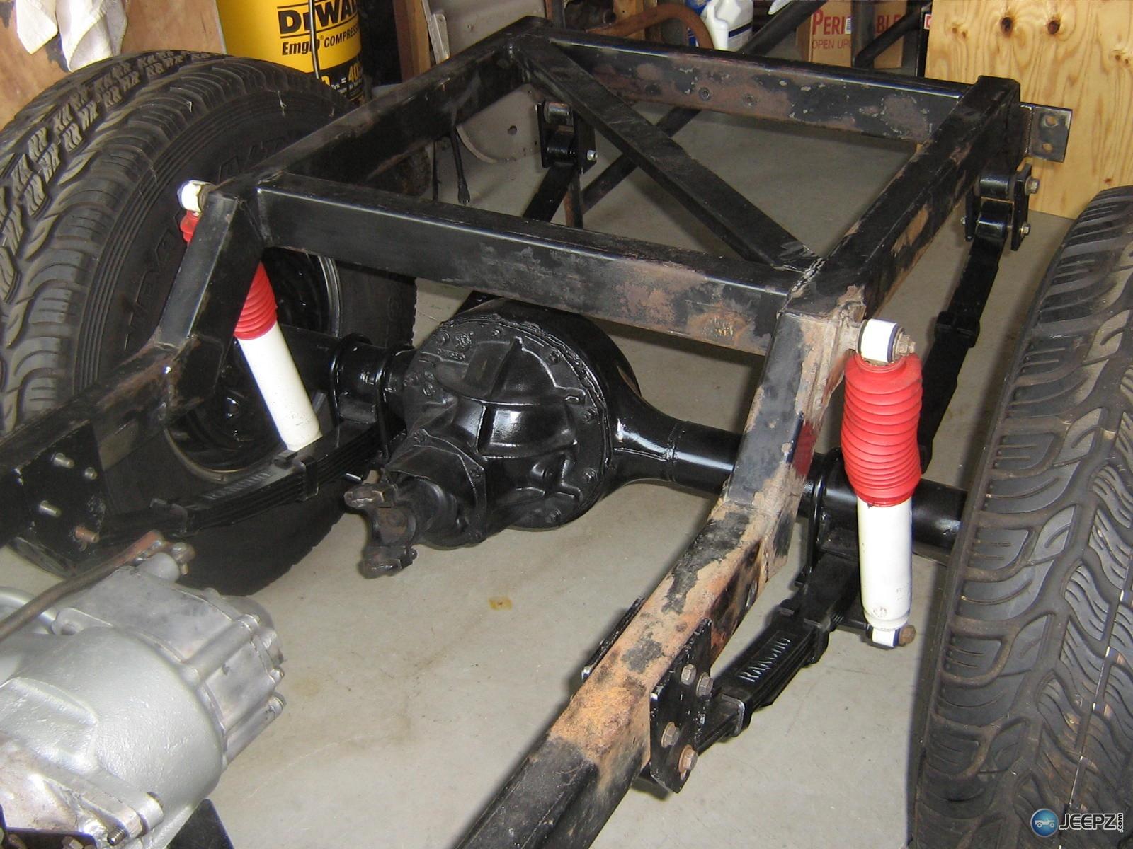 Cj5 Rolling Tube Chasis Sbc Munci 9 Quot Ford Set Up