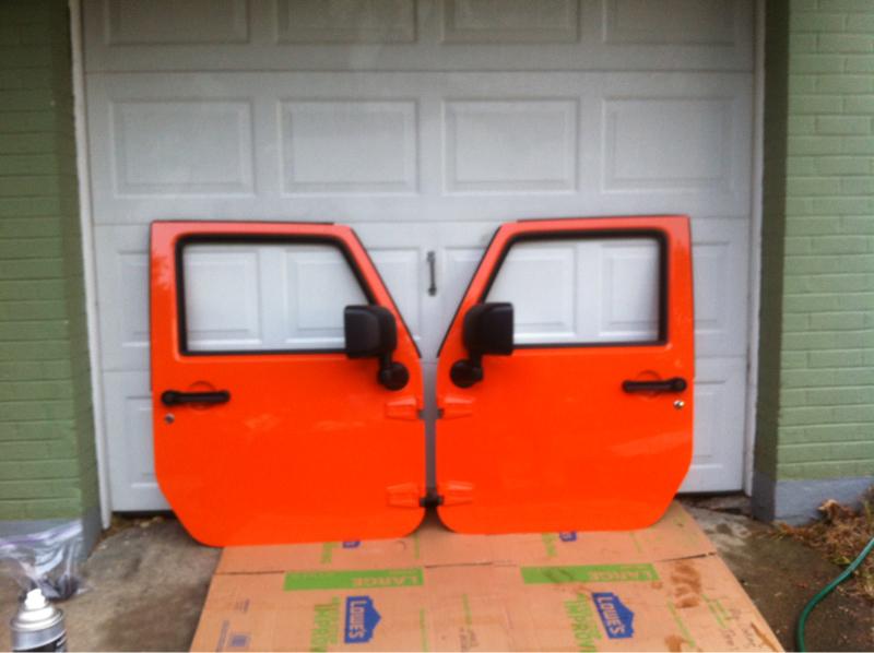 New 2012 Jeep Wrangler Rubicon Orange Quot Crush Quot Full Steel