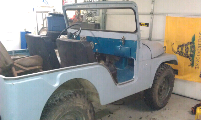 2008 Jeep Wrangler For Sale >> 1964 Willys diesel 4 cylinder Perkins for sale