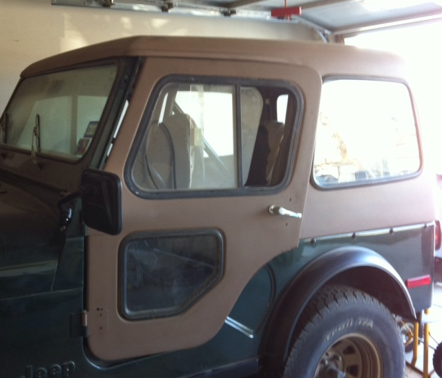 Re 1978 cj5 used hard top w/ doors & 1978 cj5 used hard top w/ doors