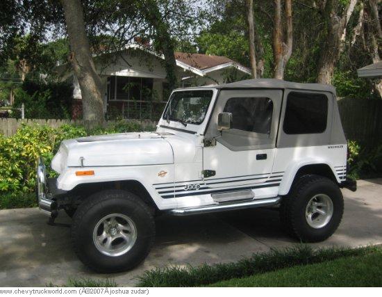 1989 Jeep Wrangler Islander Edition