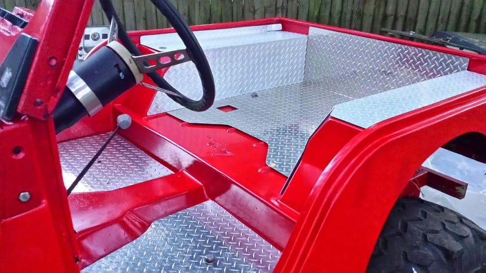 1972 Jeep Cj 5 Project With Complete Fiberglass Tub And