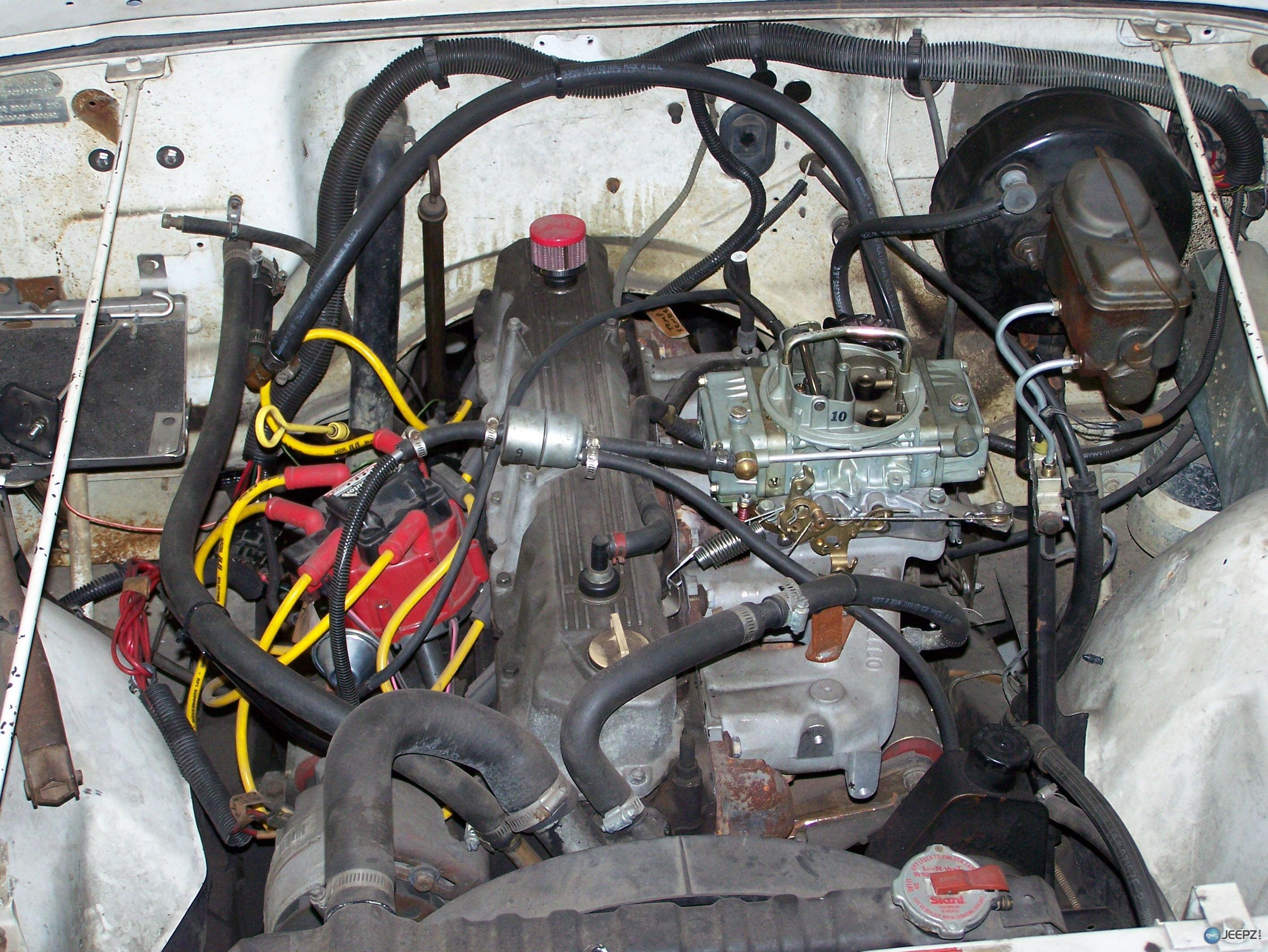 88 Jeep 258 Engine
