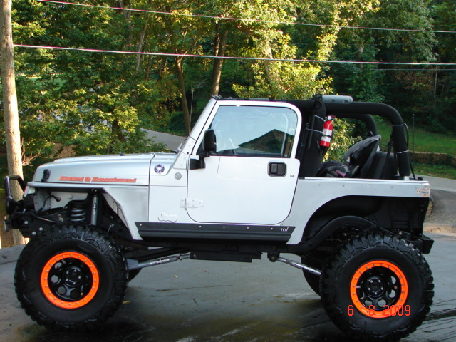 """2004 Jeep Liberty For Sale >> 2004 Jeep TJ Supercharger, Stroked, & Lifted 8"""" 400 HP Engine"""