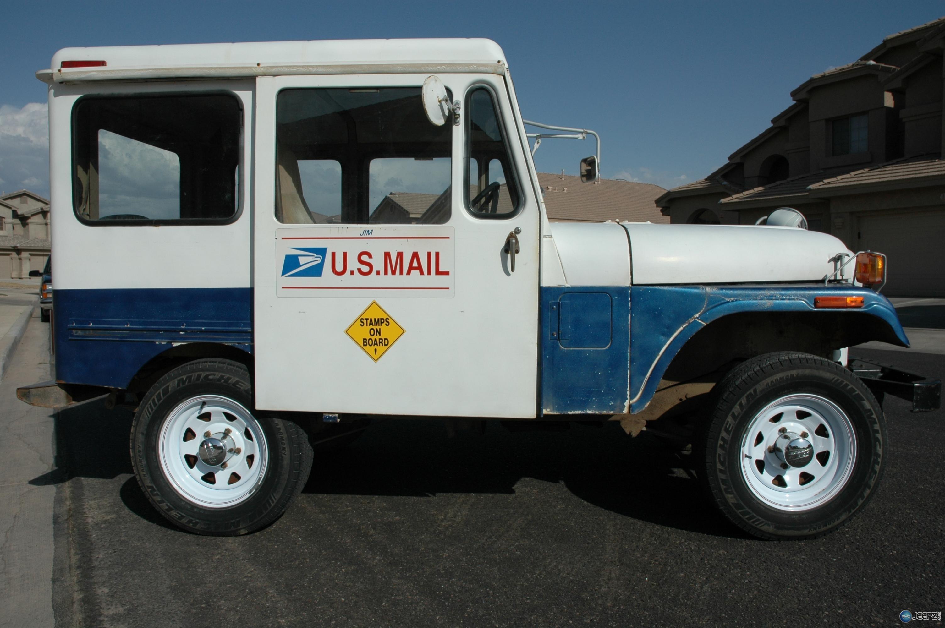 79 dj5f postal jeep for sale. Black Bedroom Furniture Sets. Home Design Ideas