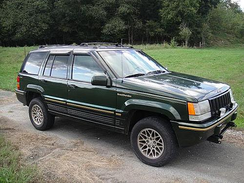 95 Jeep Grand Cherokee Laredo 4x4 Part Out