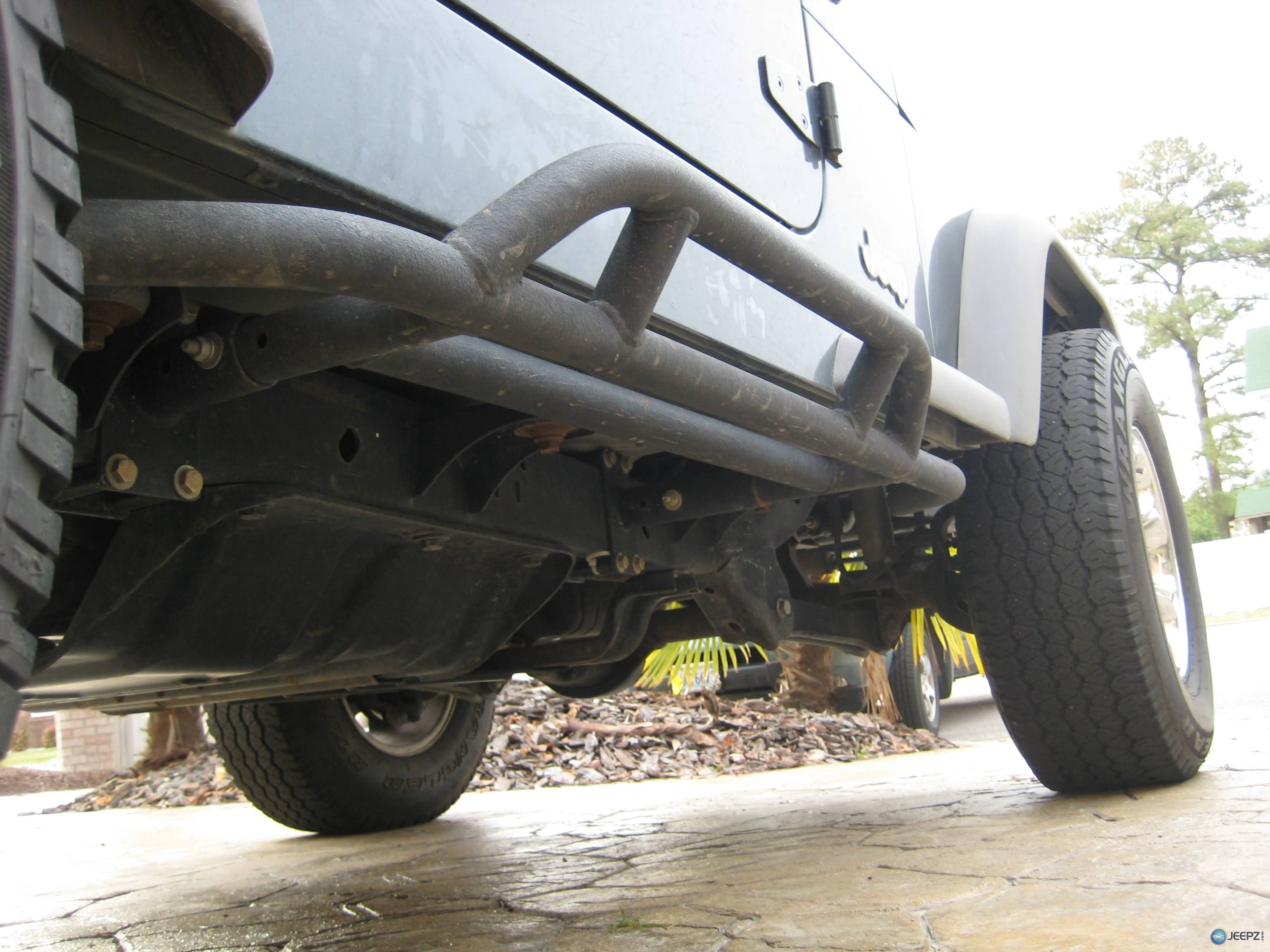 2008 Jeep Wrangler For Sale >> Reversable rock sliders (Reverse-a-Bars) by Olympic