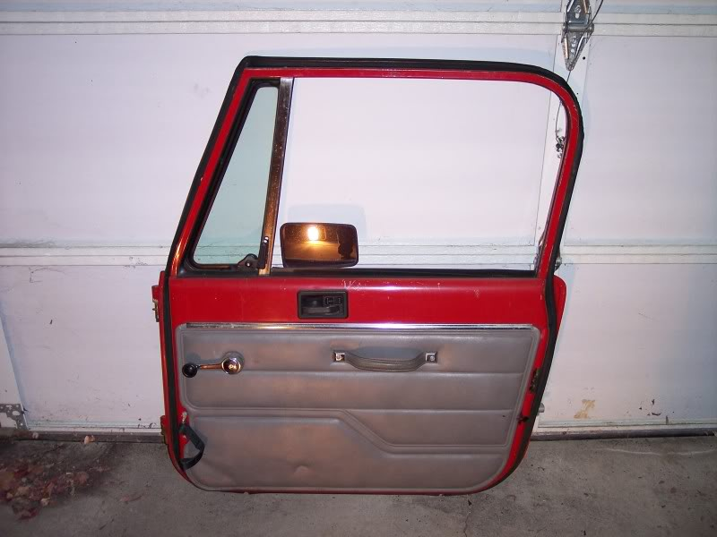 Jeep Wrangler YJ Full Steel Doors