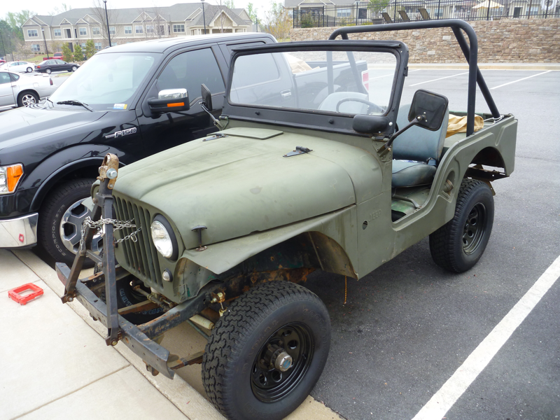 Jeeps For Sale In Ga >> 1956 Willys CJ5 for sale