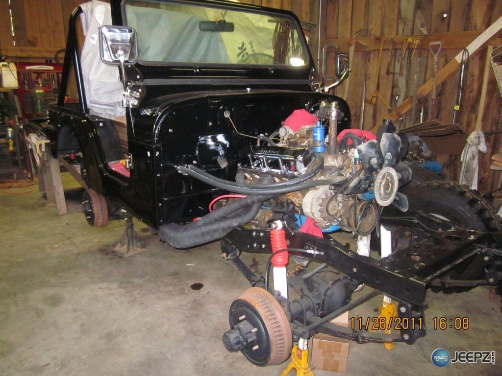 76 Cj5 Restoration