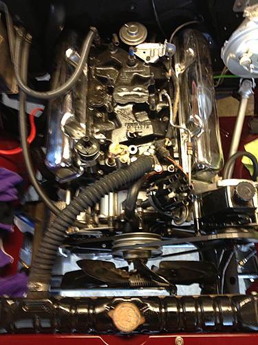 79 CJ7 - The Beginning-engine-mostly-done.jpg