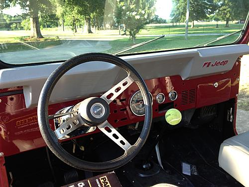 79 CJ7 - The Beginning-jeep-dash-after.jpg
