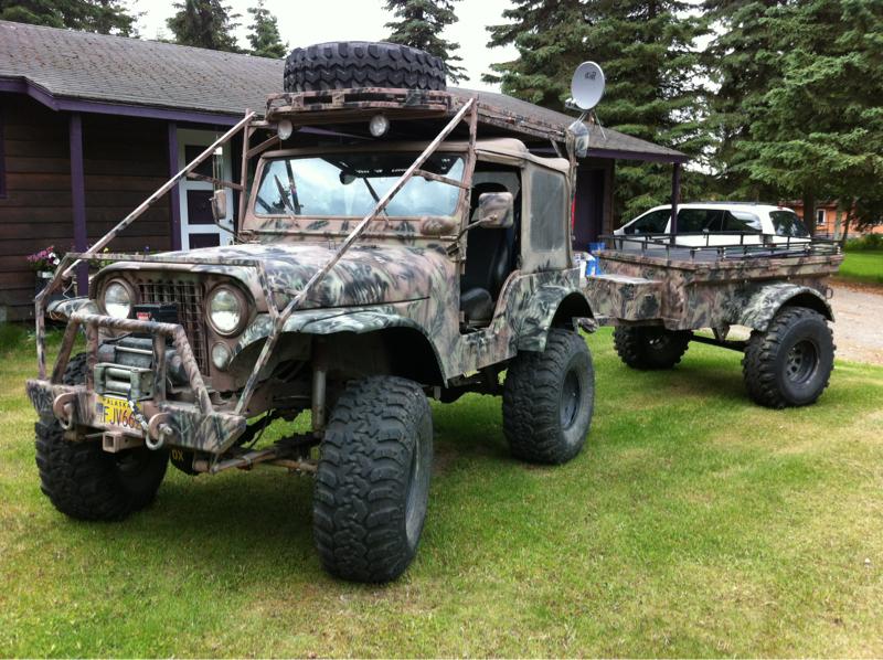 Staten Island Jeep >> My CJ5 build w/trailer