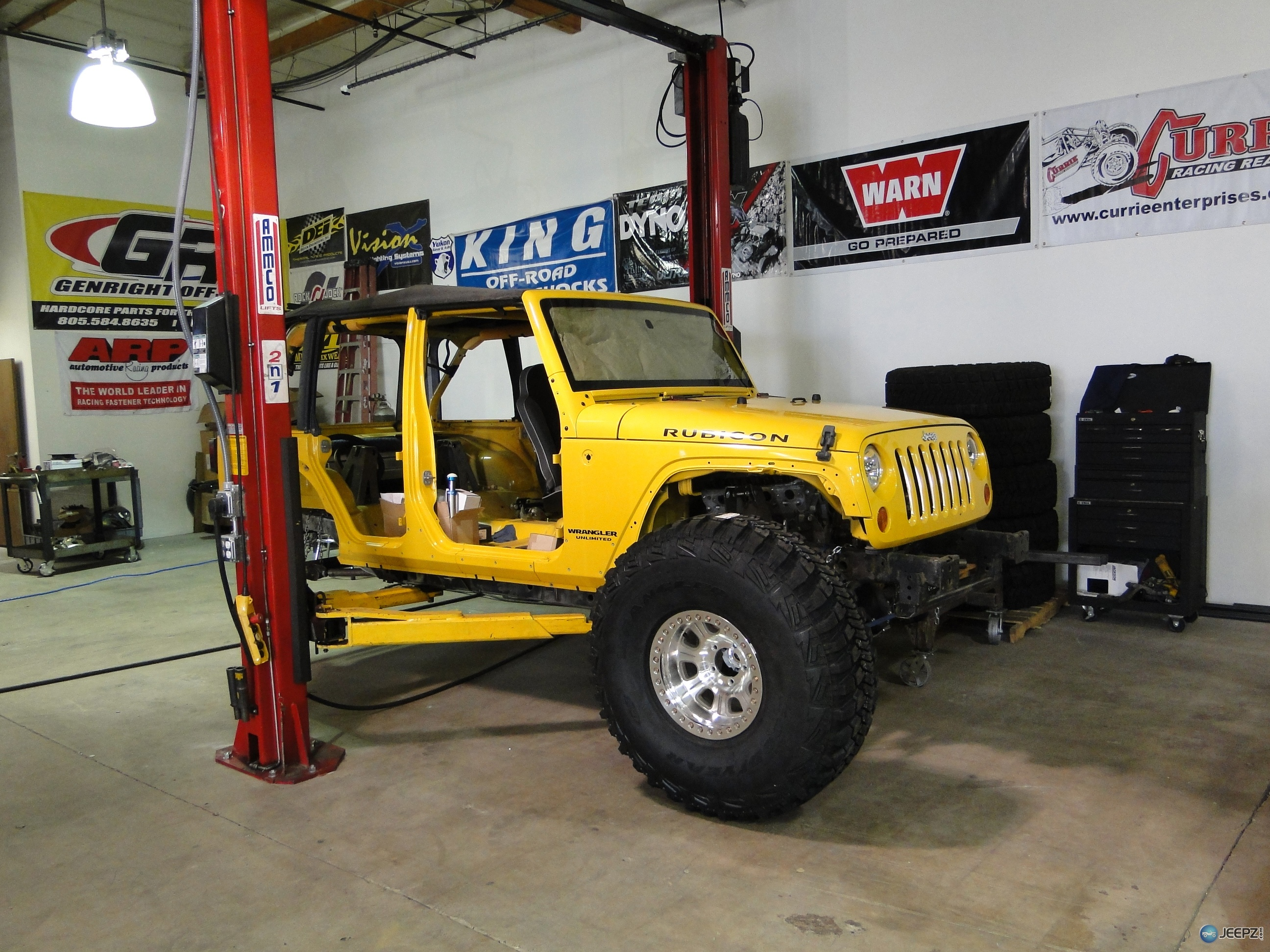Genright Completely Guts A Yellow Jk For Major Overhaul