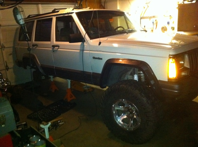 1993 Cherokee (XJ) Country: Build by TWDJ