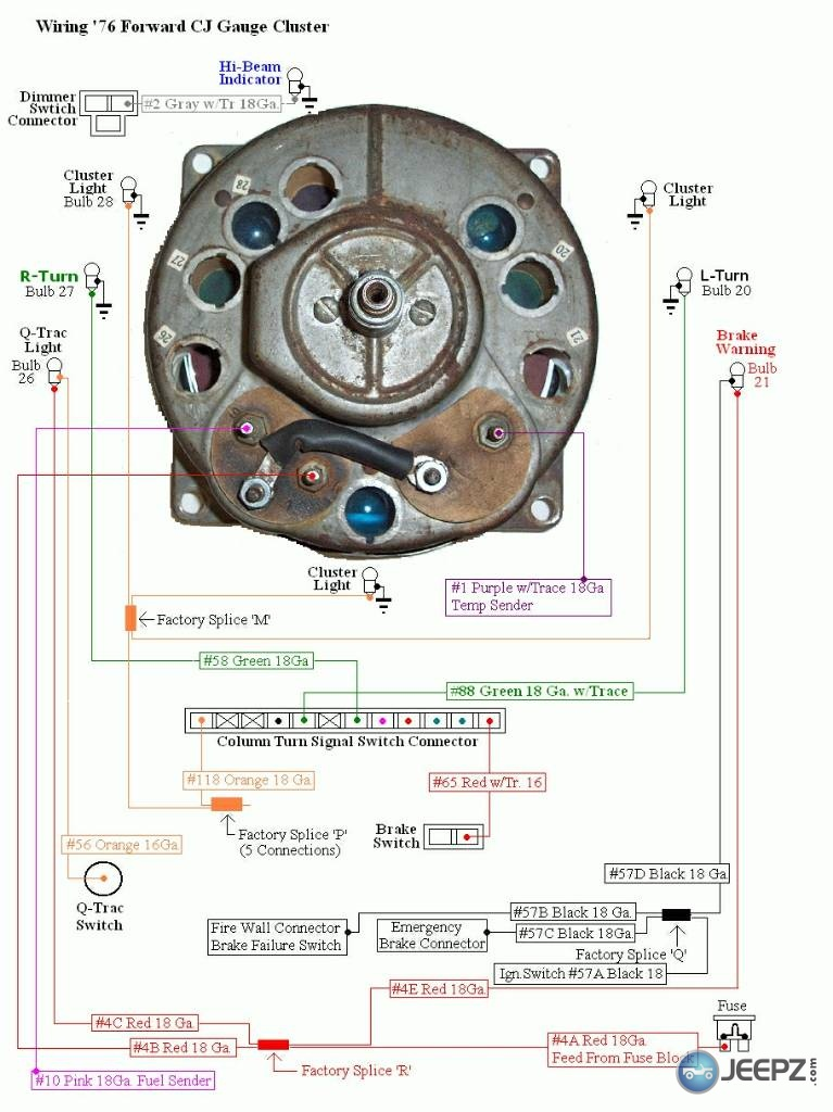 Cj Speedometer Cluster Wiring Diagram - Diagram Design Sources layout-gaudy  - layout-gaudy.lesmalinspres.fr | Cj 7 Wiring Diagram Instrument Cluster |  | layout-gaudy.lesmalinspres.fr