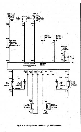 Jeep Wrangler Radio Wiring Diagram For on wiring diagram for 89 jeep comanche, vacuum diagram for 89 jeep wrangler, ignition system for 89 jeep wrangler, coil for 89 jeep wrangler, wiring diagram for 1989 jeep wrangler,