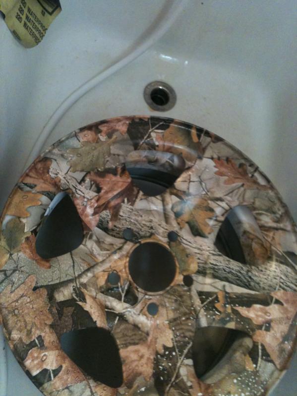 Camo Water Printing Wheels