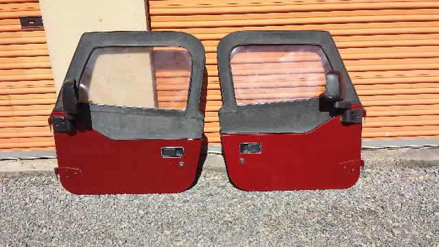 Selling jeep wrangler 97-06 half doors. sunbury PA area.