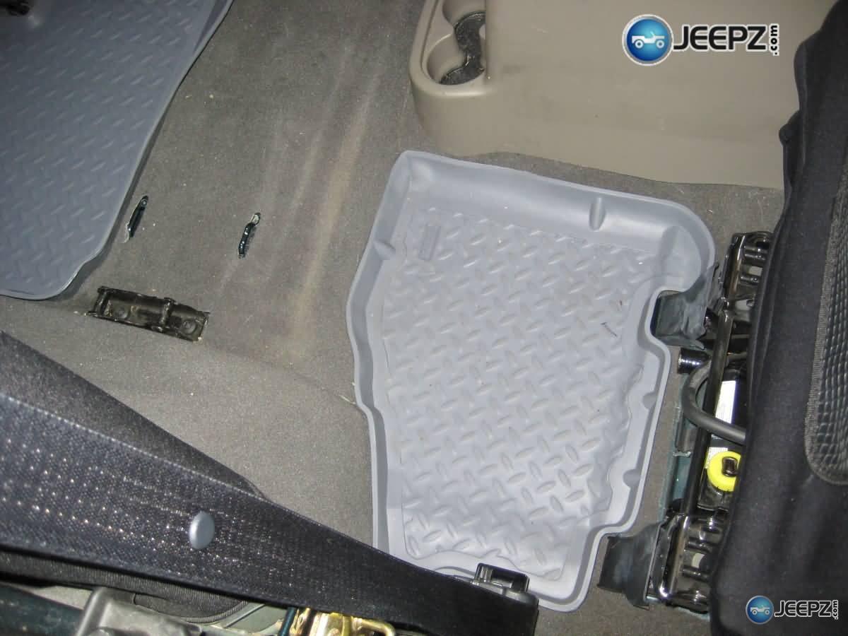 Huskey Liner Floor Mats For Jeep Wrangler