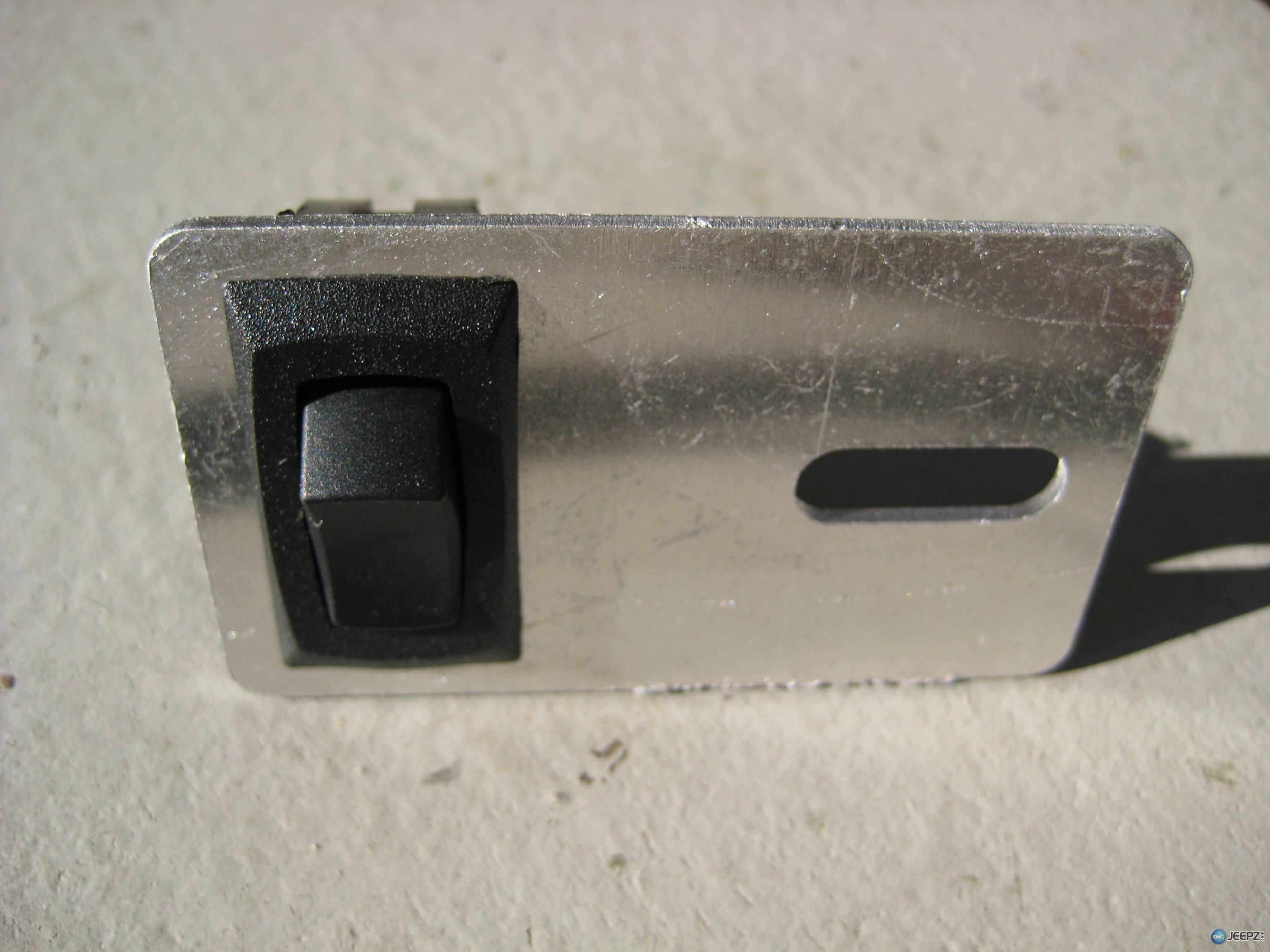 wrangler dome light switch