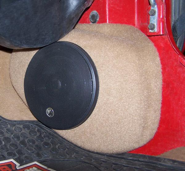 Jeep Wrangler Tj Front Kick Panels Speaker Pod S