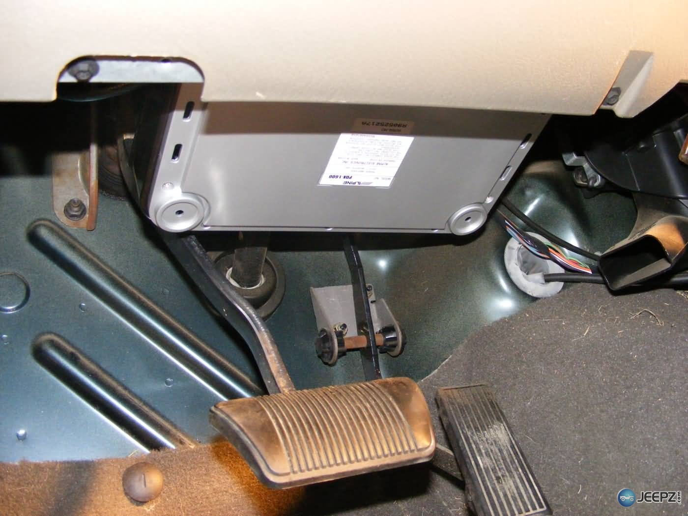 Skinny Pedal Jeep Tj Amp Bracket