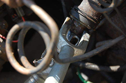 Replacing the lower steering shaft bearing and steering gear coupling on a CJ-dsc_0029.jpg