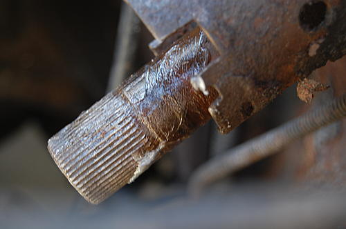 Replacing the lower steering shaft bearing and steering gear coupling on a CJ-dsc_0040.jpg