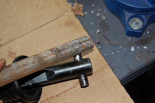 Replacing the lower steering shaft bearing and steering gear coupling on a CJ-dsc_0062.jpg