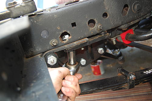 Replacing the lower steering shaft bearing and steering gear coupling on a CJ-dsc_0072.jpg