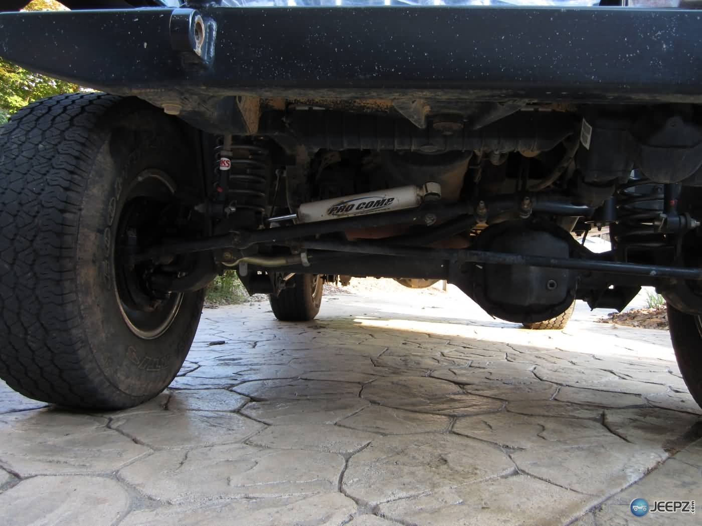 Installing A Wrangler Steering Stabilizer Wrangler Steering Stabilizer