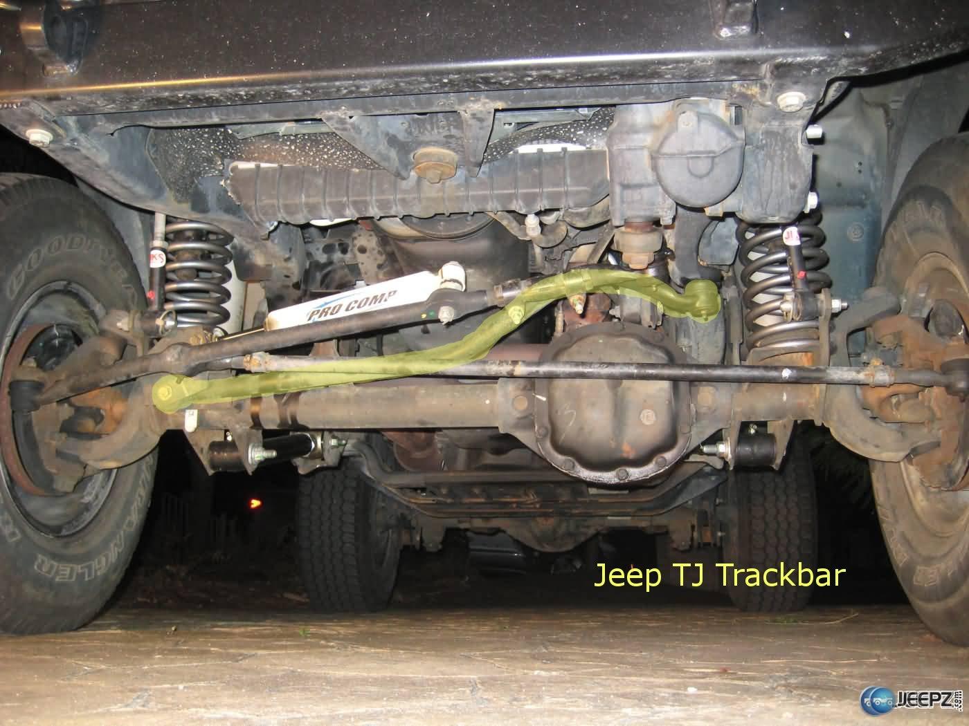 Jeep Track Bar Install