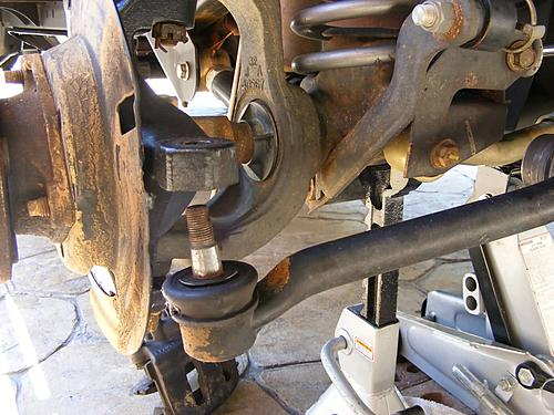 Jeep Wrangler Ball Joint Replacement-4-remove-tie-rod-end.jpg