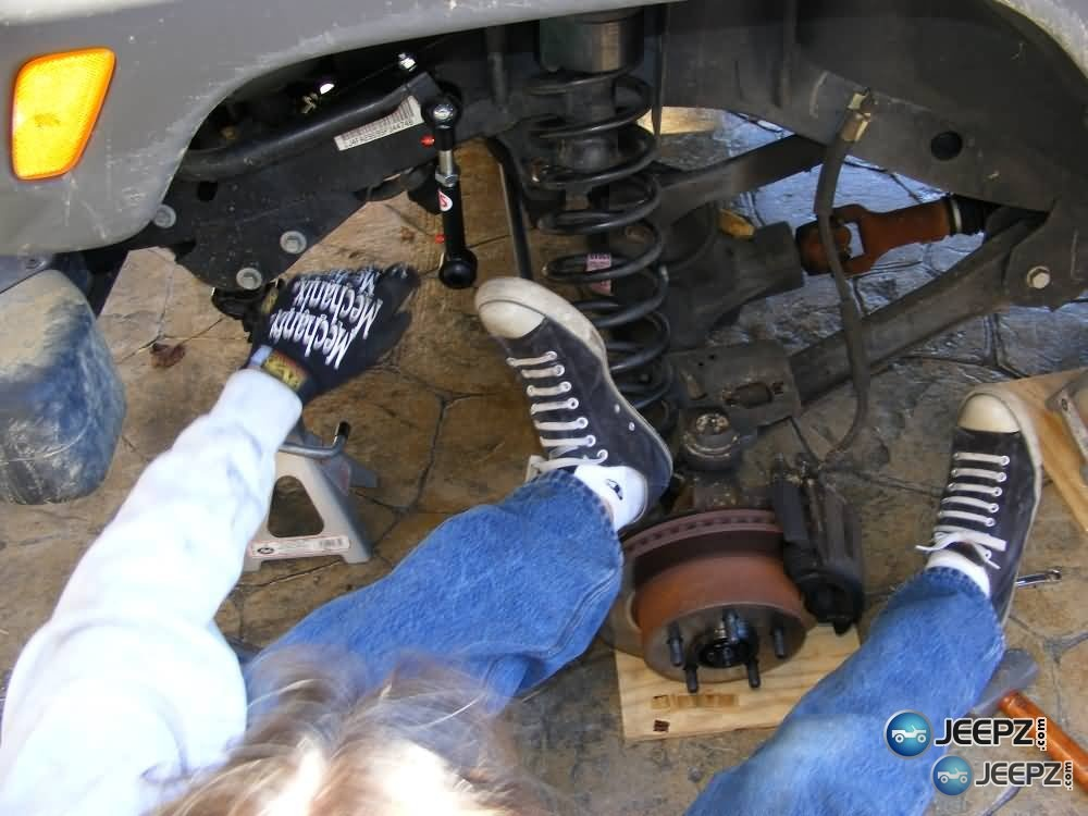 Lift Your TJ Installing A Rubicon Express 2 Coil Spacer Kit - Installing A Jeep Lift