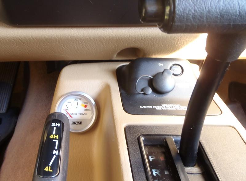 b u0026m transmission gauge