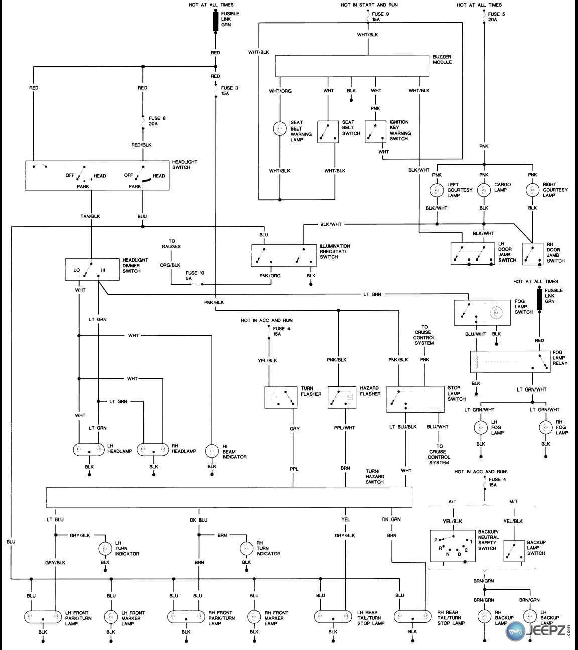Diagram Further 1993 Jeep Yj Wiring Diagram On 04 Jeep Wrangler
