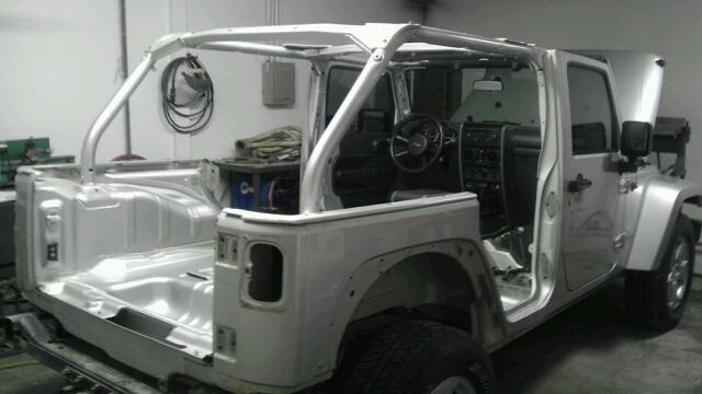 Jeep Jk8 Project